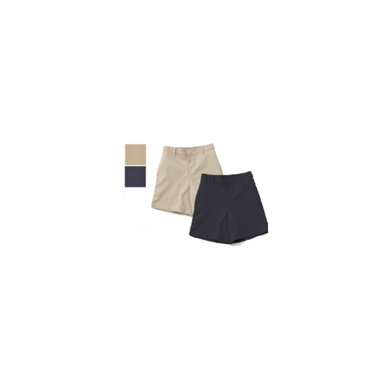 Good Shepherd - Flat Front Shorts for Girls