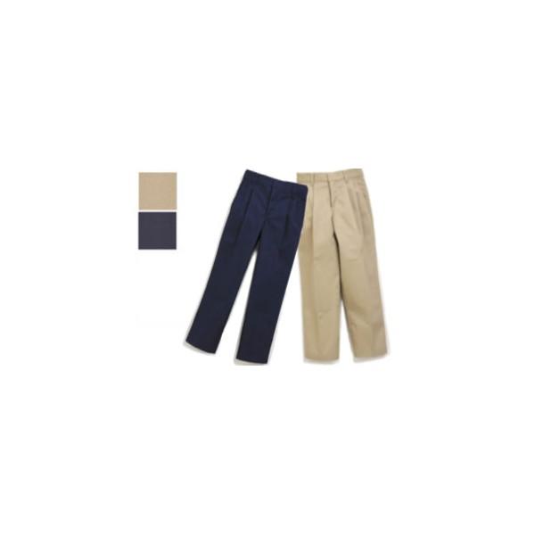 Boys Pleated Pants