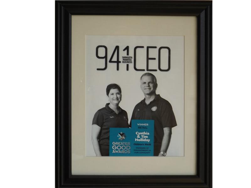 941 CEO Sarasota Award