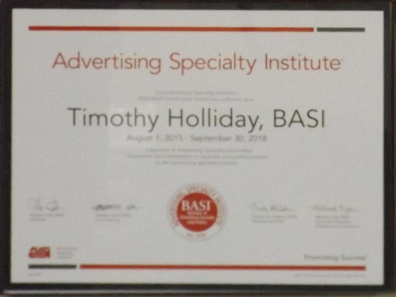 BASI Advertising Certificate