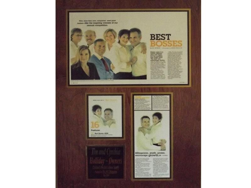 Best Bosses Award