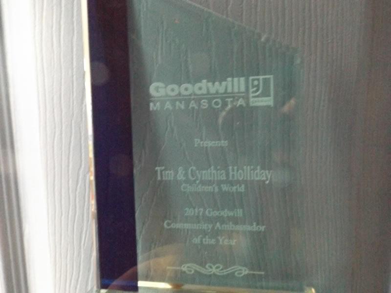 Goodwiil Award