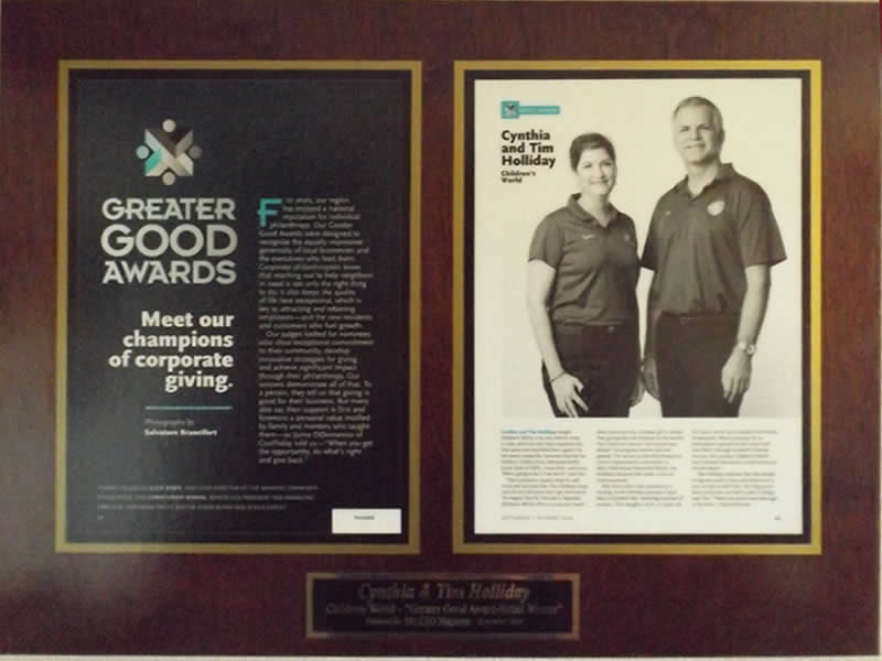 Greater Good Award