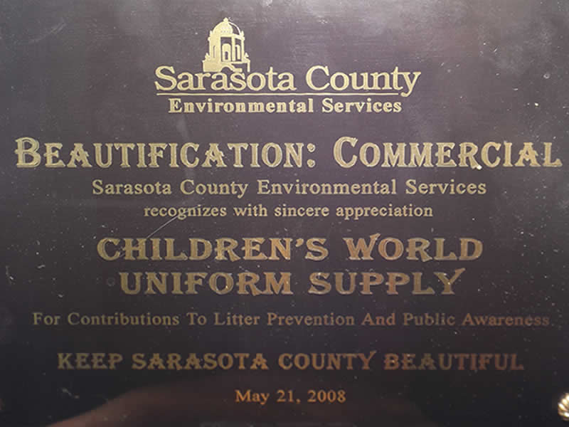 Award Sarasota Beautification