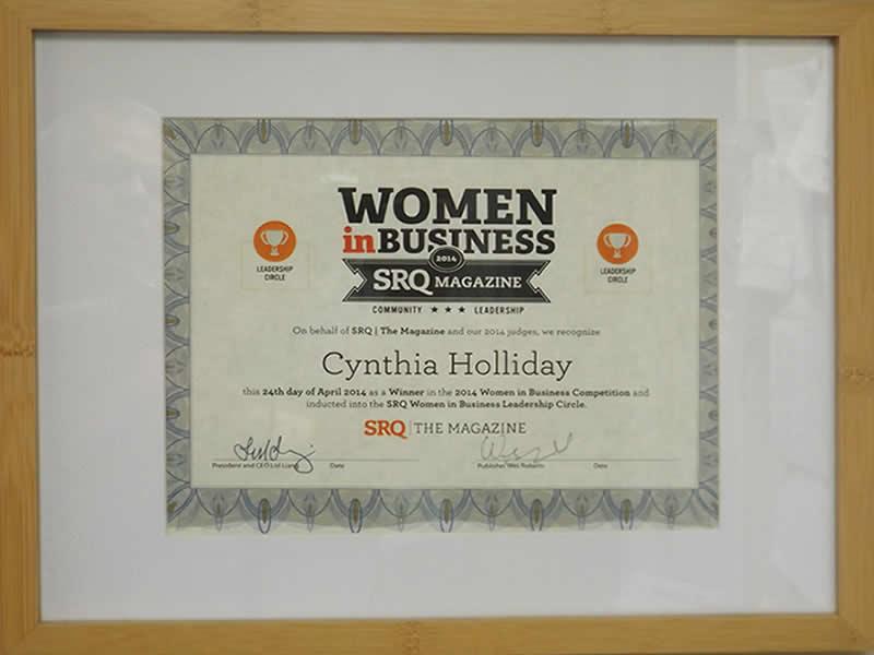 Award women in Business