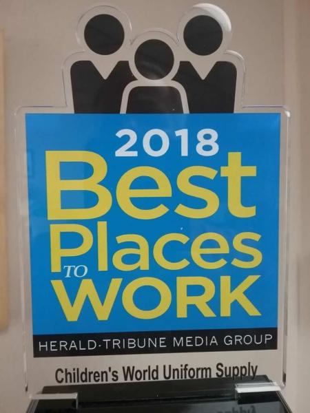 Best work place 2018