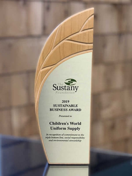Tampa Bay Area Sustainable Business Award 2019