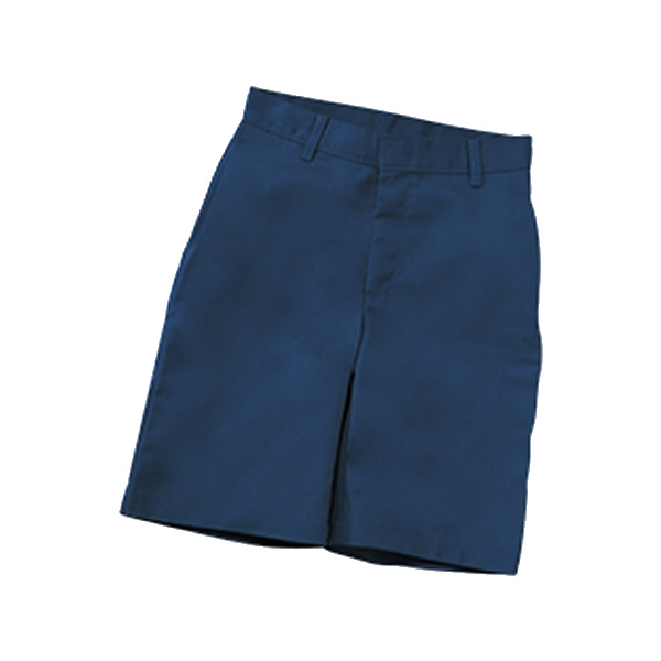 St. Charles-Boys Flat Front Shorts w/Logo - 5R-14R - Children's World -  School Uniforms and Educational Toys
